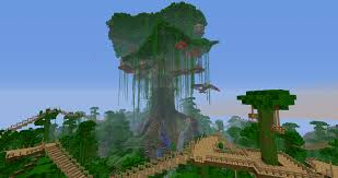 cool tree houses in minecraft ideas design 611301 design ideas