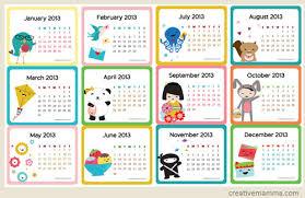 cute calendar template confetti printable free 2014 calendar 12