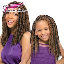 senegalese twist hair brand 22 inches senegalese twist crochet hair for kids 12 strands havana