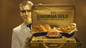 kfc hires billy zane to play gold colonel for gold chicken