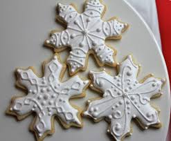 snowflake cookies finally some christmas cookies paddle attachment