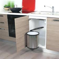 poubelle cuisine auchan poubelle automatique castorama avec poubelle cuisine automatique 30l