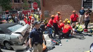 charlottesville officials 1 dead 19 injured after crash near