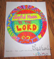 make a joyful noise to the lord bible craft for
