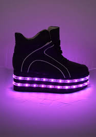led light up shoes light up led platform shoes