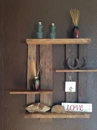 Wood Shelves Images by 400 Best Pallet Shelves Images On Pinterest Pallet Ideas Pallet