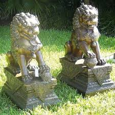 large foo garden statue foo garden statues sale asian foo