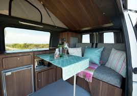 volkswagen van interior ideas vw campervan hire blog cornish campers roxy is ready for the
