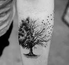 46 small tree tattoos golfian com