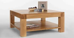 ash coffee table with drawers 20 amazing square oak coffee tables home design lover