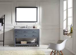 Single Bathroom Vanity Cabinets Virtu Usa Caroline Estate 48 Bathroom Vanity Cabinet In Grey