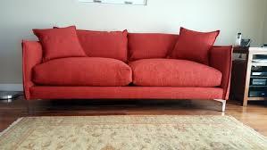 Orange Sofa Bed by Help Coordinating Reddish Orange Sofa