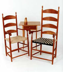 Shaker Dining Chair Shaker Dining Chairs At The Woods Chair Shop Shaker