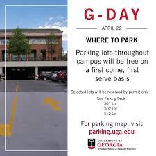 Uga Parking Map Uga Transportation U0026 Parking Services Photos Facebook