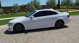 wtb 08 u0027 11 u0027 335i coupe m sport mt white shadowline