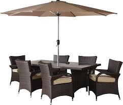 Patio Set Umbrella Brayden Studio Berke 8 Patio Set With Umbrella And Cushions