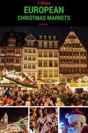 5 unique european markets that will make you festive