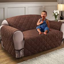 Fabric Protection For Sofas Quilted Microfiber Total Furniture Cover With Ties Sofa Covers