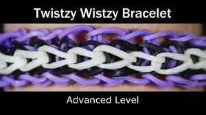 rainbow loom twistzy wistzy bracelet youtube