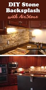 Stone Backsplashes For Kitchens 25 Best Diy Kitchen Backsplash Ideas And Designs For 2017