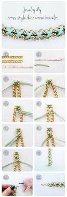 woven bracelet tutorials images 16 easy diy bracelet tutorials pinterest safety pins safety jpg