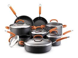 rachael ray thanksgiving amazon com rachael ray hard anodized nonstick 14 piece cookware