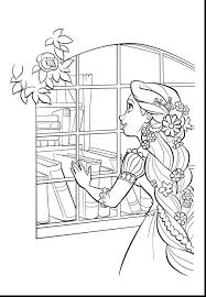 tangled coloring pages flynn rider disney pascal rapunzel free