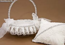arras para boda detalles boda cojín de ceremonia o cesta de ceremonia para arras