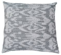 bulk wholesale home decor wholesale 16x16 square cushion cover ikat print cotton throw