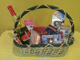 with creative gift baskets this season food and