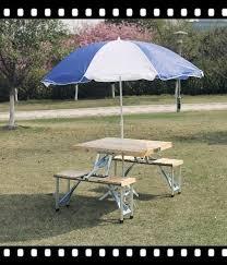 aluminum portable picnic table outdoor garden aluminum portable folding cing picnic table with 4