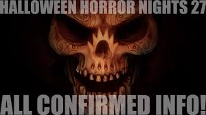 halloween horror nights tickets cost halloween horror nights hhn27 all confirmed houses and info