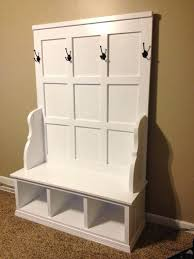 Bench Seat With Storage Storage Bench With Coat Rack With Hall Storage Bench Seat With