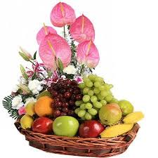 fruits flowers fruit basket fruits flowers basket retail trader from mumbai