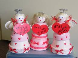 clay pot angels clay pot crafts pinterest clay craft and