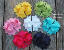 boutique bows handmade boutique hair bows big girl boutique bow