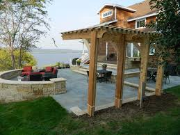 Patio Designs With Pergola by Cantilever Pergola Backyard Pinterest Pergolas Pergola
