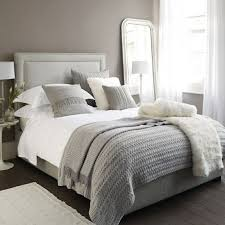 Top  Best White Grey Bedrooms Ideas On Pinterest Beautiful - White color bedroom design