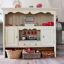 pretend kitchen furniture vintage dresser turned into a kid s kitchen crafty ideas