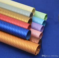 solid wrapping paper wrapping paper gift wrap 10 solid colour 75 x52 cm pearly lustre