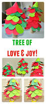 spread more love and joy with this hearts christmas tree craft