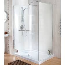 wickes contemporary walk in enclosure with tray 1400x900mm