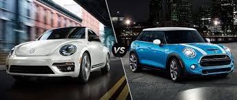 volkswagen mini 2016 volkswagen beetle vs 2016 mini cooper jennings volkswagen