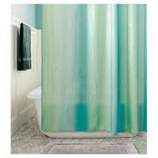 Shower Curtain Teal Ombre Shower Curtain Teal Threshold Target