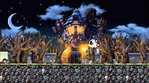 halloween haunted house background images 1920x1080 maplestory bgm haunted house youtube