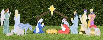 Nativity Outdoor Decorations Outdoor Nativity Sets Made In The Usa Outdoor Nativity Store