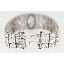 art deco onyx marquise diamond link bracelet art deco jewelry