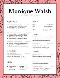 creative resume templates canva