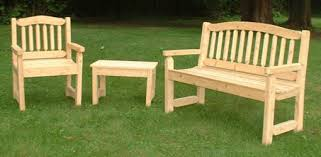 Choosing Durable Wood For A Garden Bench And Outdoor Furniture - Wood patio furniture