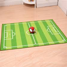 100 130cm green area rug football carpet jogging football training